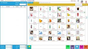 Phần mềm cà phê, trà sữa, quán ăn, quán nhậu, nhà hàng off-line, cài trực tiếp trên máy tính, mua một lần dùng vĩnh viễn - A screenshot of a cell phone - Computer Software